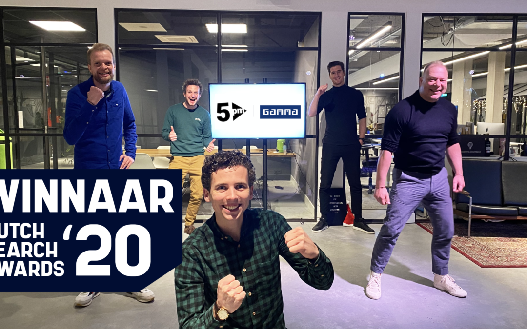 Dutch Search Awards 2020: 5PM en GAMMA winnen 'Beste Video Campagne'