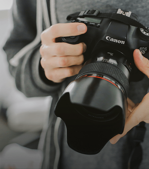 Canon Homepage YouTube case