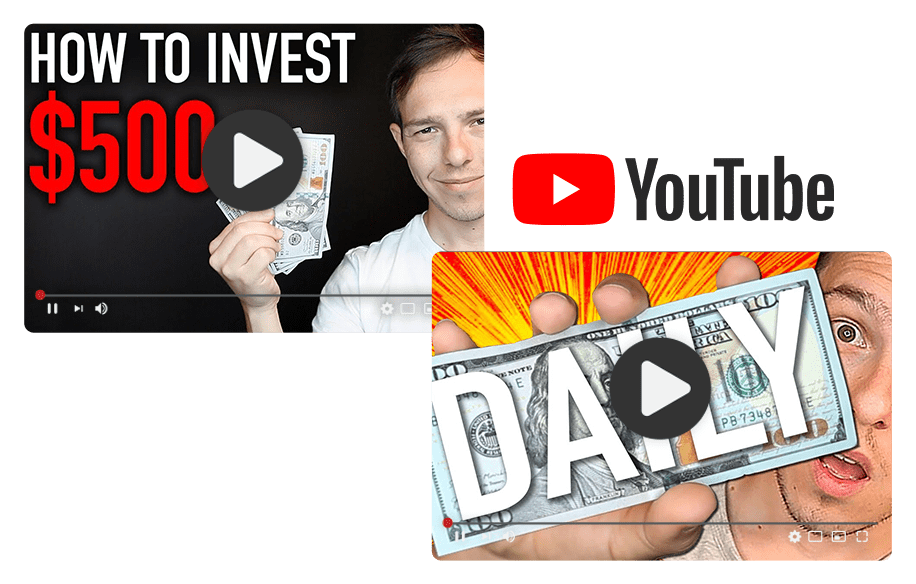 Blog the success of personal finance niche on YouTube thumbnails
